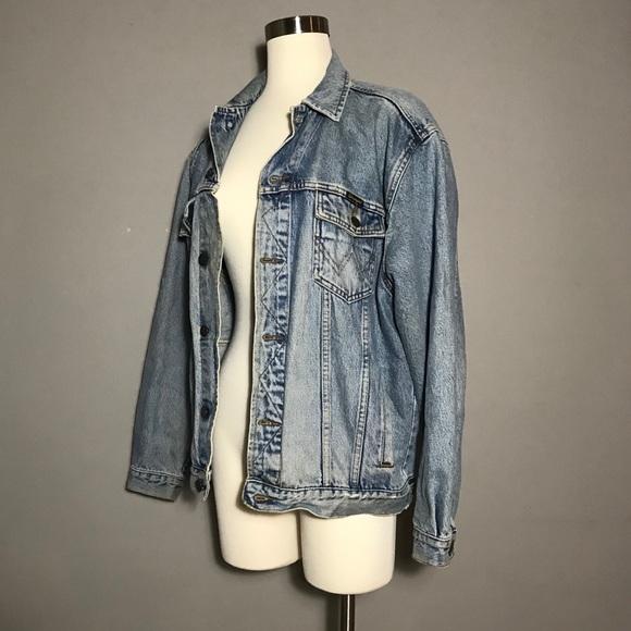0d14aa03 Wrangler Jackets & Coats   Vintage Authentic Western Denim Jacket ...